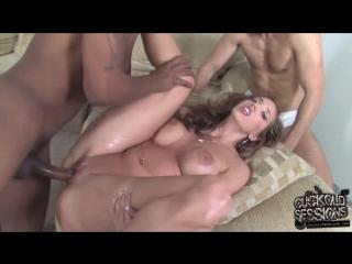 3 CuckoldSessions - Kelly Divine - 2009  DOGFART Cuckold Куколд Interracial Межрасовое GANGBANG НЕГР ПОРНО HD