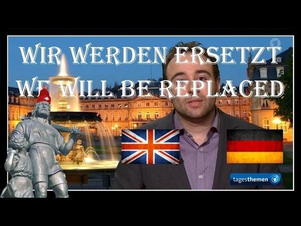 * WIR WERDEN ERSETZT * WE WILL BE REPLACED * YASCHA MOUNK * DEUTSCH * GERMAN Tagesthemen Experiment