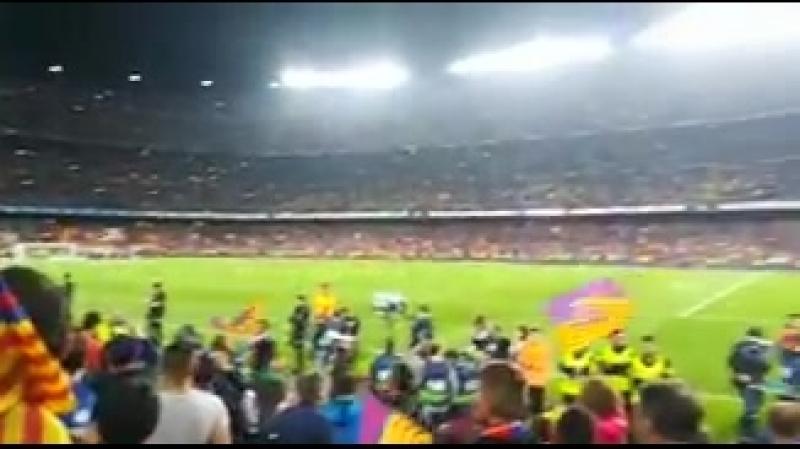 LaLiga ElClásico - - La afición, eufórica tras el partidazo en el Camp Nou! - - EnDirecto ️