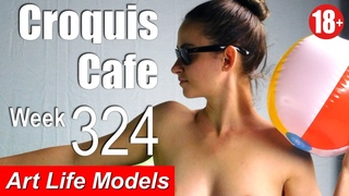 Croquis Cafe: Figure Drawing Resource No. 324 (new model, January)