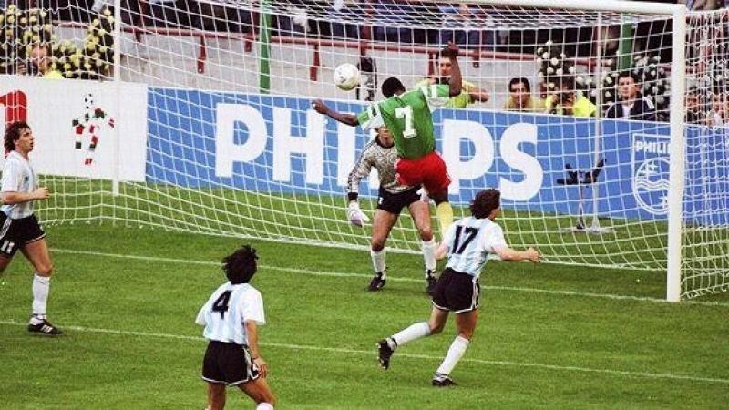 ЧМ -1990 года. Матч открытия Аргентина Камерун. Легендарный гол камерунца Франсуа Омам-Бийика в ворота чемпионов мира!