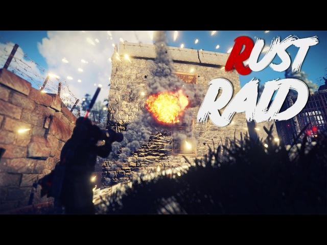 RUST RAID - РЕЙДЫ КЛАНОВ , АНТИ РЕЙДЫ В РАСТ | PLAYRUST.OVH СЕРВЕР