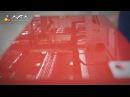 115 Глянцевая и 3D отделки на вальцовой УФ линии Cefla