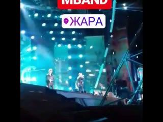 """Выступление Mband на завершающем дне фестиваля """"ЖАРА"""" 17"""