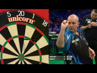 Phil Taylor vs Michael Smith (PDC Unibet Masters 2017 / Round 1)