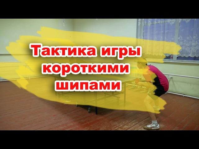 Тактика игры короткими шипами от Сергея Грибанова в настольном теннисе Короткие шипы в настольном т