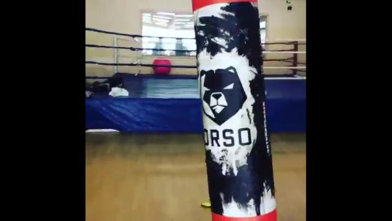 Работа с боксёрским мешком ORSO