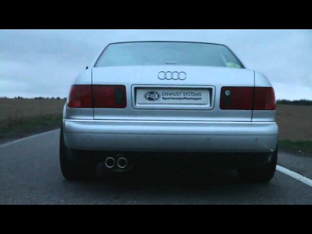 Sportauspuff FOX Audi A8 Komplettanlage SOUNDFILE by LoonyTuns