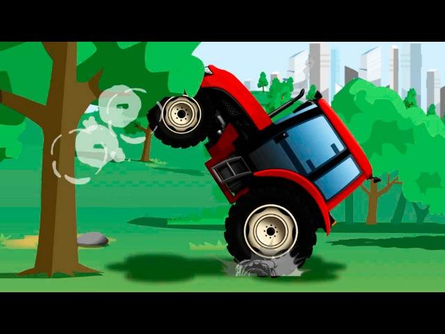 Traktor Prace Na Farmie Bajka Dla Dzieci po polsku