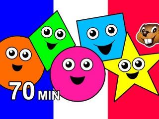 """""""Цвета и формы"""" французский для детей. """"Цвета и формы"""". Песни и уроки. Обучение мал ..."""