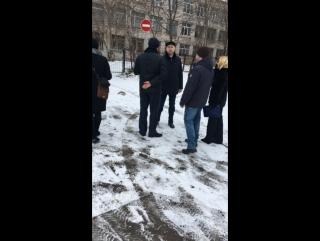 Рабочий выезд с мэром города Вологды в Заречной части города