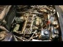 Ремонт двигателя Volvo 5-цилиндров ч.2.Снятие головки блока.