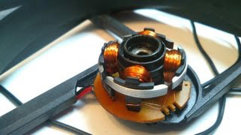 Как устроен бесколлекторный двигатель
