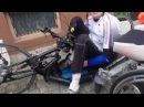 Как пересаживаться из handbike в коляску