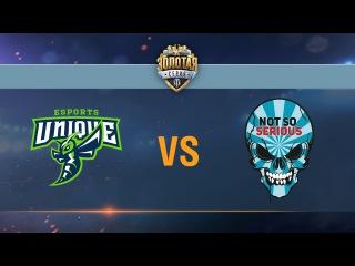 Not So Serious vs UNIQUE - day 3 week 2 Season II Gold Series WGL RU 2016/17