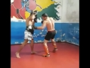 Felipe Froes - тренировка по муай-тай