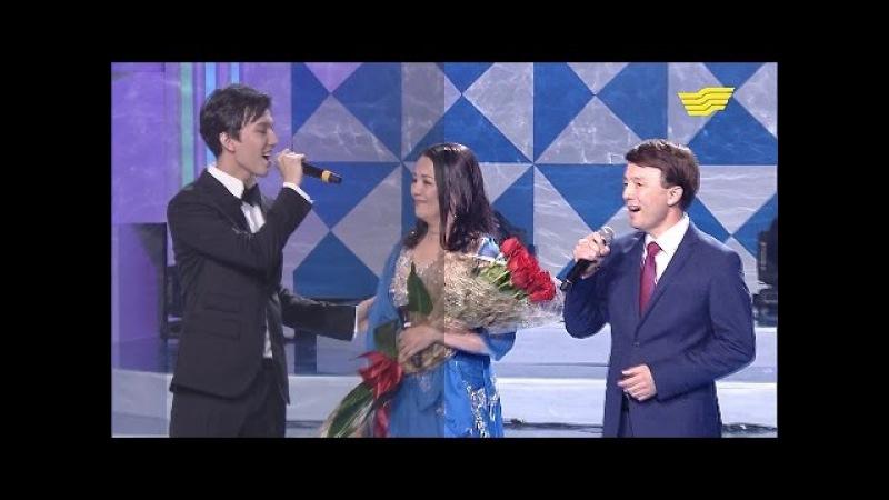 Димаш Кудайбергенов с родителями Асыл анашым г Астана 25 04 2017