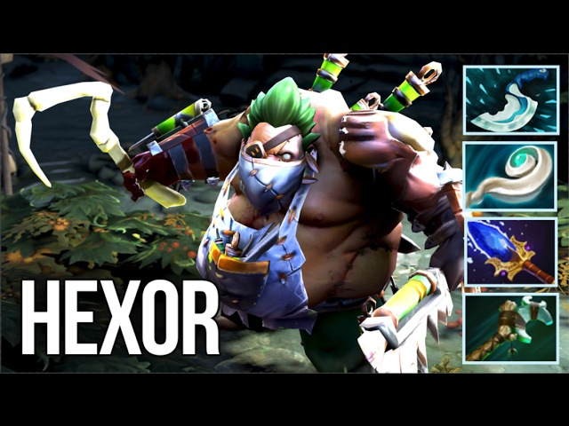 HexOr Pudge Compilation Magical Hooks Dota 2