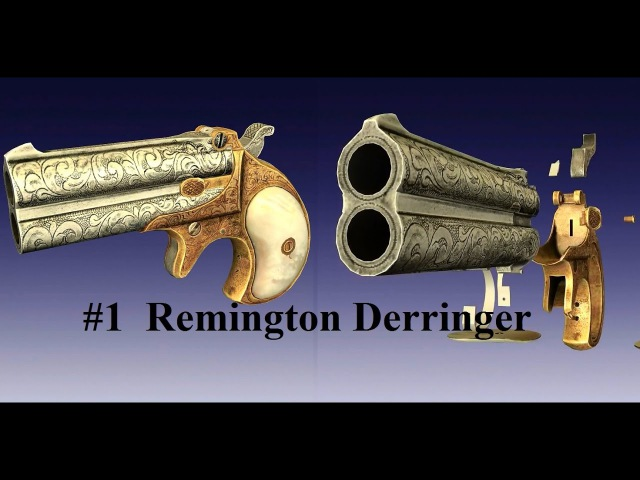 World of Guns 1 Введение в игру Ремингтон дабл дерринджер обр 1860г США