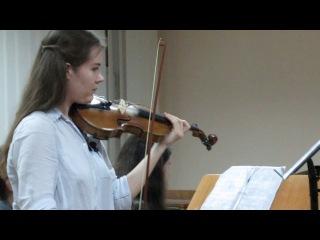Дебюсси Прекрасный вечер исполняют Екатерина Кралькова и Александра Танкова