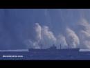 Подводный взрыв атомной бомбы в океане