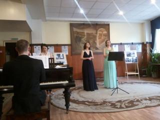 Концерт От барокко до современности в зеленоградской библиотеке