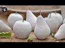 DIY - Herbstdeko selbermachen   Früchte aus Beton   Gießform aus Silikon herstellen   How to