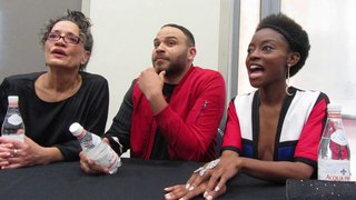 Siren: Sibongile Mlambo, Ian Verdun & Rena Owen - Wonder Con 2018