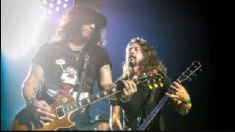 Guns N' Roses Dave Grohl - Paradise City   Live In Tulsa, Oklahoma 2017