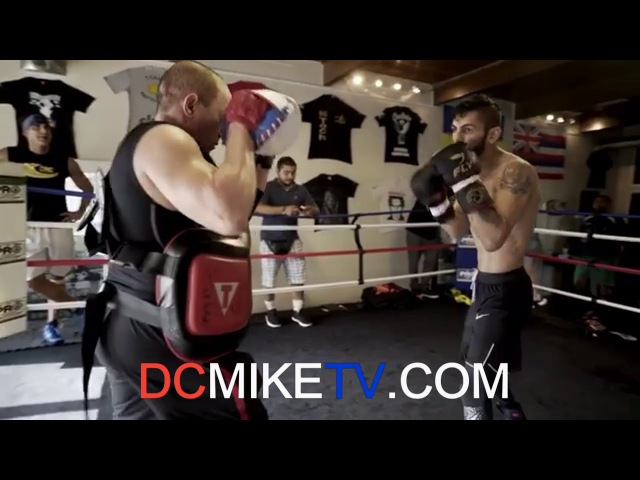 JORGE LINARES TRAINING HARD FOR MERCITO GESTO ON JANUARY 27TH