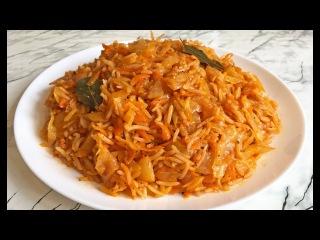 Лаханоризо / Λαχανόρυζο  / Lahanorizo / Греческая кухня / Рис с Капустой / Постное Блюдо