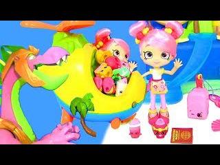 Shopkins Season 8 Asia Игры для Детей Шопкинс АЗИЯ! КИТАЙСКАЯ БАБЛИША! Видео для Детей #Мул ...