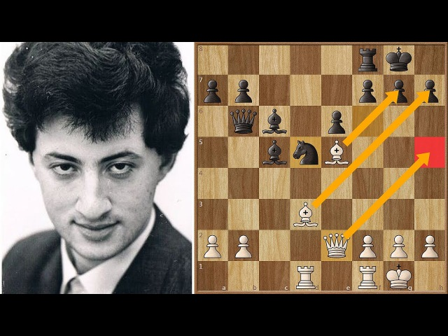 Boris Gelfand Slaps Kramnik with a Double Bishop Sac