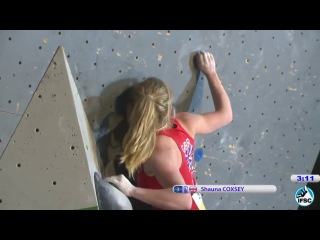 [UPDATED-2017] Shauna Coxsey (GB) - Every problem solved during IFSC Bouldering Events (2013-2017)