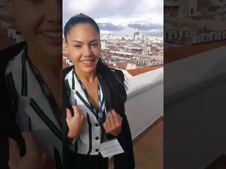Apolonia  La Piedra en Madrid entrevistada en TVE