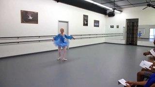 77-Year Old Grandma Is A Ballerina