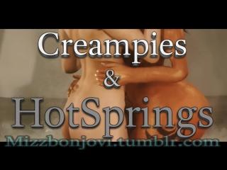 Creampies & HotSprings (The Elder Scrolls sex)