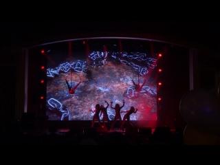 Воздушный цирк Виктории Саяпиной и шоу балет Пудра