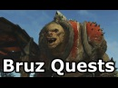 Middle Earth Shadow Of War Bruz The Chopper All Quests Full Story