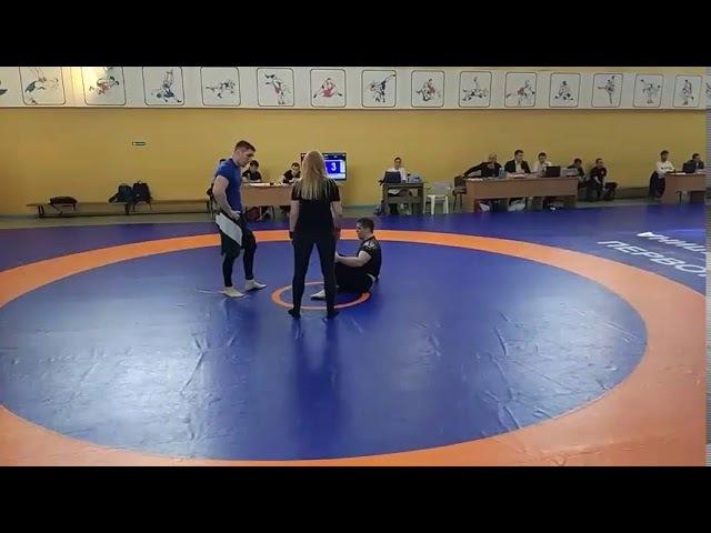 Чемпионат НСО по грэпплингу 2018 категория 100 кг Никита Шестухин 1 схватка