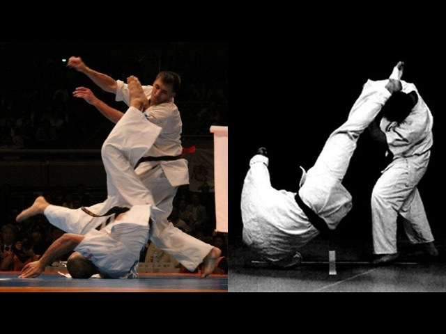 Most Unusual yet Effective Kick Ever Kyokushin Karate