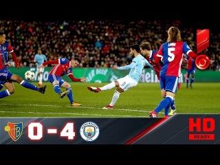г. Базель - Манчестер Сити - 0:4. Обзор первого матча 1/8 Лиги чемпионов