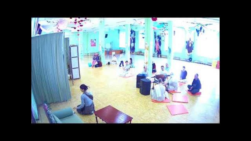 Восскресная программа Лекор Бхакти Расаяна Сагара Свами ШБ 01 17 32 04 03 2018г