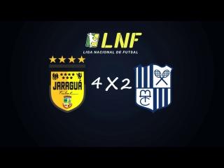 LNF2017 - Semana 19 - Gols - Jaraguá 4 x 2 Minas