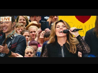 Shania Twain - Life's About To Get Good (Live on TODAY)