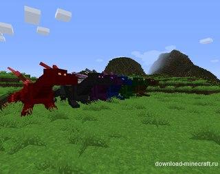 моды на майнкрафт 1.7.10 на драконью руду #4