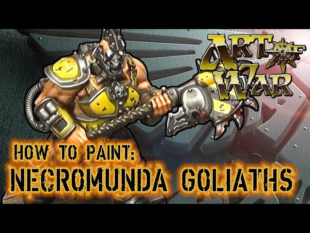How to Paint Necromunda Goliaths