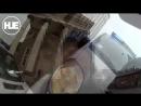 Задержание вора в Риге попало на видео