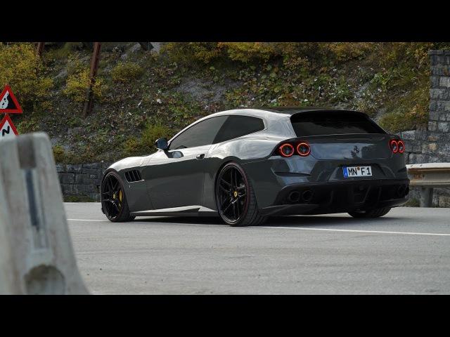 Novitec Ferrari GTC4 Lusso Exhaust