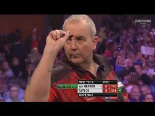 Michael van Gerwen vs Phil Taylor (Grand Slam of Darts 2017 / Semi Final)